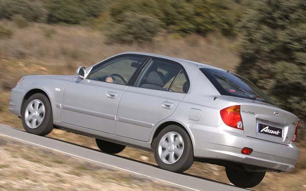 Hyundai Accent Hatchback 2003-2005