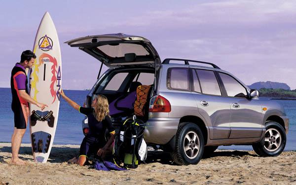 Фото Hyundai Santa Fe  (2000-2012)