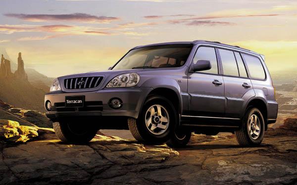 Hyundai Terracan 2001-2007