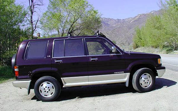 Фото Isuzu Trooper