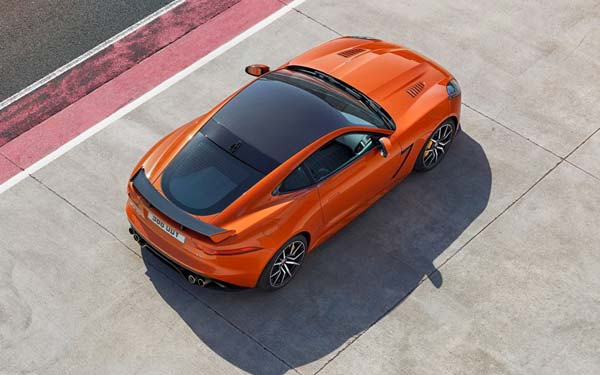 Jaguar F-Type Coupe SVR (2016...) Фото #92