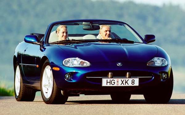 Jaguar XK Convertible 1998-2005