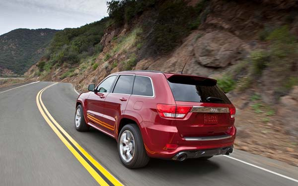Jeep Grand Cherokee SRT8 2011-2013