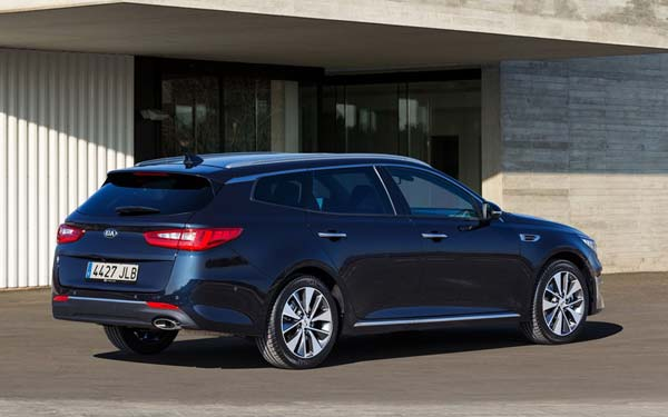 Kia Optima Sportwagon (2016...) Фото #112
