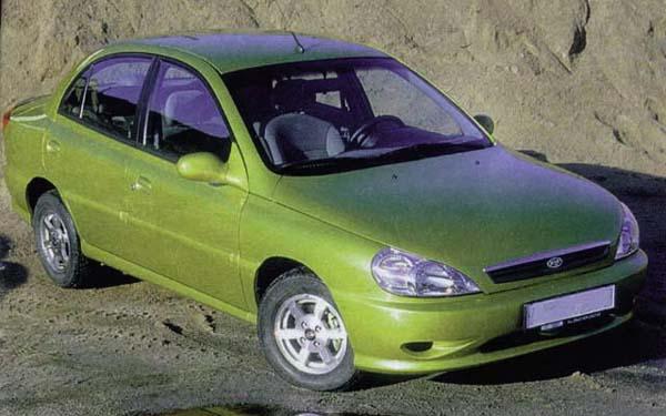 Kia Rio Sedan 2000-2002