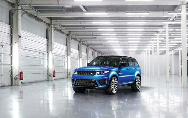 Land Rover Range Rover Sport SVR 2014-2017