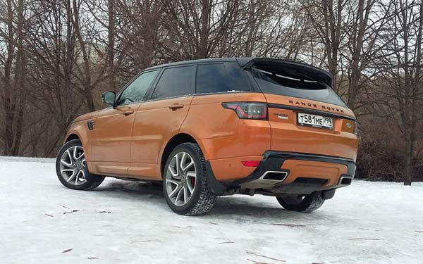 Land Rover Range Rover Sport (2017...) Фото #262