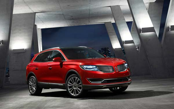 Lincoln MKX (2015-2017) Фото #21