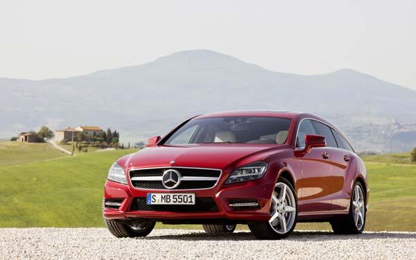 Mercedes CLS Shooting Brake 2012-2014