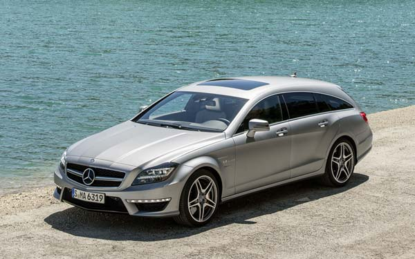 Mercedes CLS 63 AMG Shooting Brake (2012-2014) Фото #111