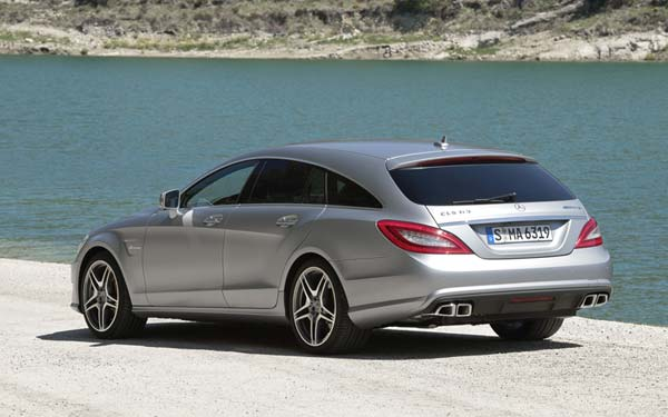 Mercedes CLS 63 AMG Shooting Brake (2012-2014) Фото #112