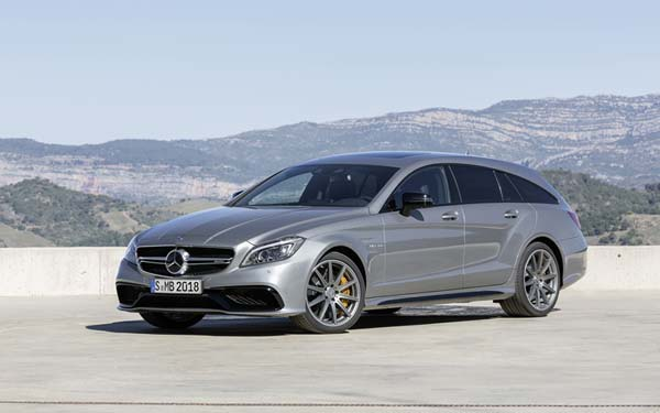 Mercedes CLS 63 AMG Shooting Brake (2014...) Фото #221