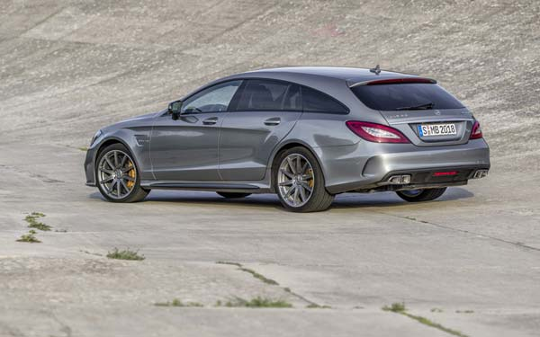 Mercedes CLS 63 AMG Shooting Brake (2014...) Фото #222