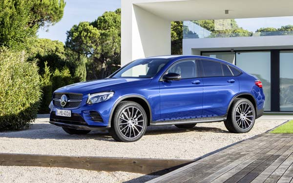 Mercedes GLC Coupe 2016-2019