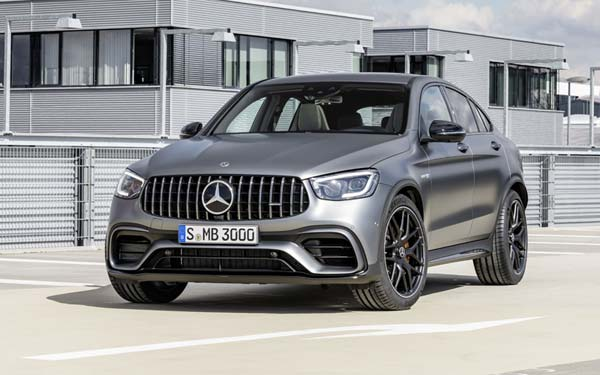 Mercedes GLC 63 AMG Coupe 2019
