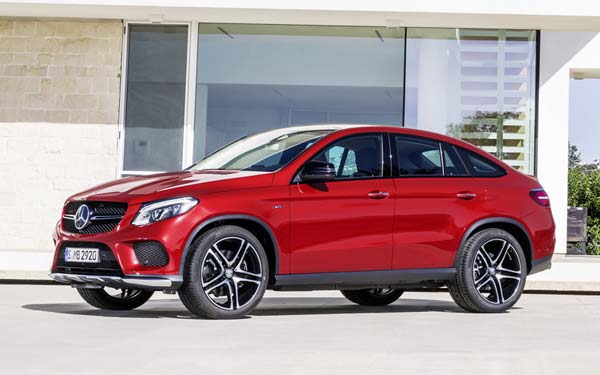 Mercedes GLE Coupe 2015-2019