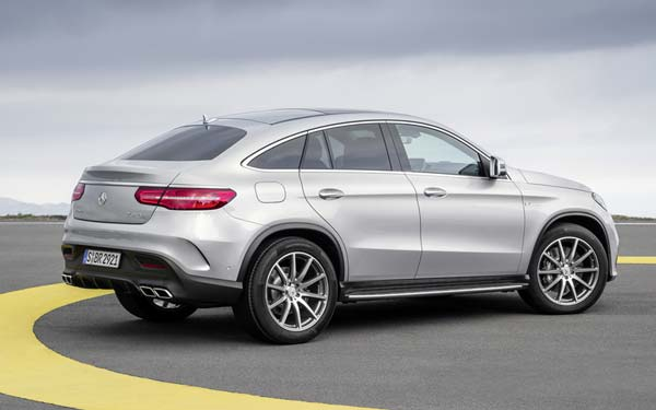 Mercedes GLE 63 AMG Coupe 2015-2018