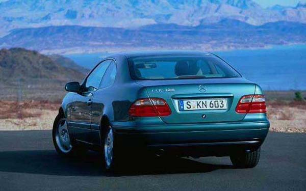 Фото Mercedes CLK  (1999-2001)