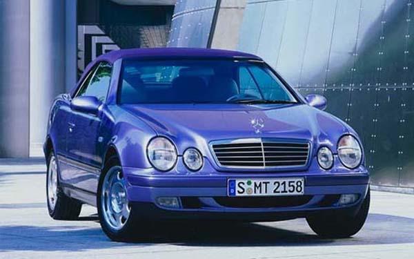 Mercedes CLK Cabrio 1999-2002