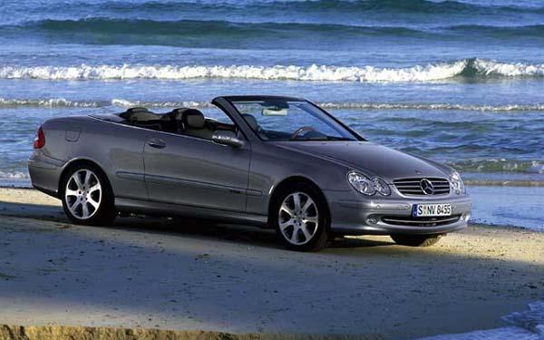 Mercedes CLK Cabrio 2003-2009
