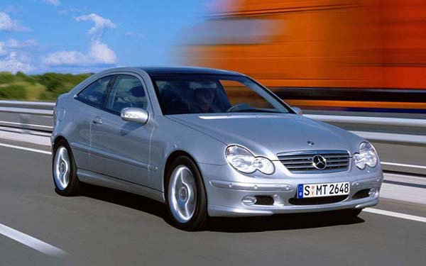 Фото Mercedes C-Class Sports Coupe  (2000-2003)