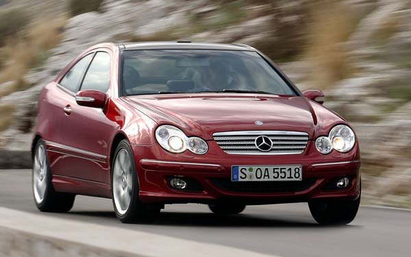Mercedes C-Class Sports Coupe 2004-2007