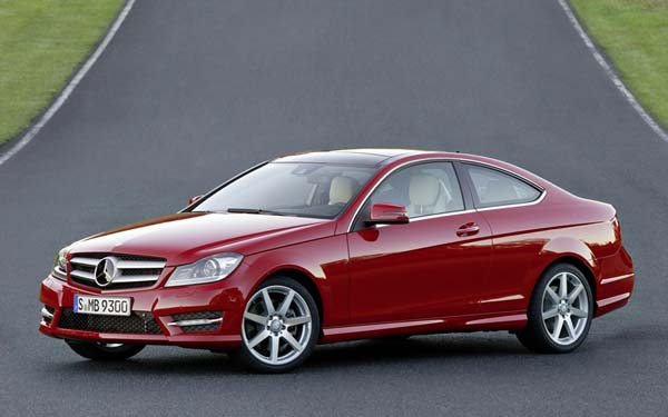Mercedes C-Class Coupe 2011-2014