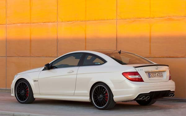 Mercedes C-Class AMG Coupe 2011-2014