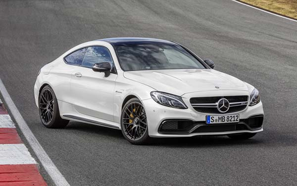 Mercedes C-Class AMG Coupe (2015-2018) Фото #451