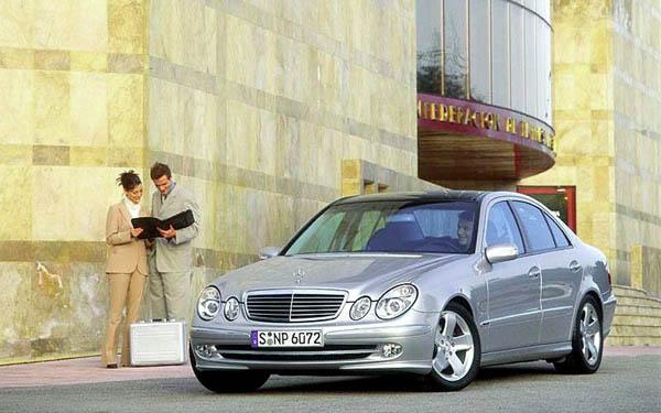 Mercedes E-Class 2002-2008
