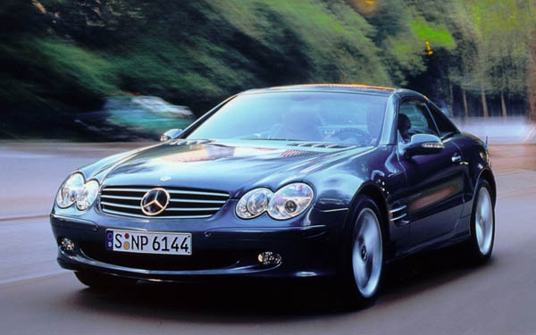 Mercedes SL 2001-2007