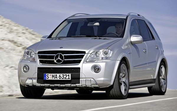 Mercedes ML 63 AMG 2008-2011
