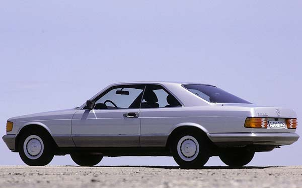 Mercedes S-Class Coupe 1981-1990