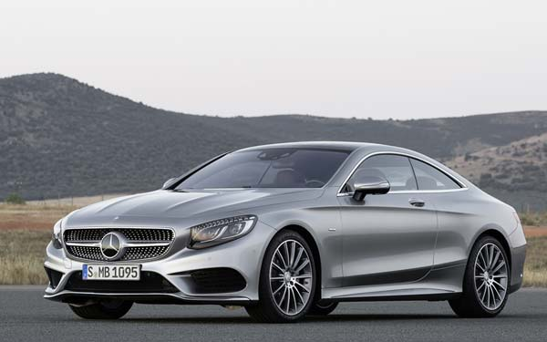 Mercedes S-Class Coupe 2014-2017