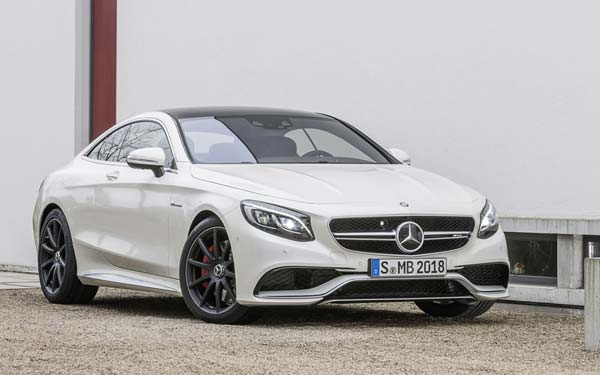 Mercedes S63 AMG Coupe 2014-2017