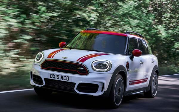 Mini Countryman John Cooper Works (2019...) Фото #141