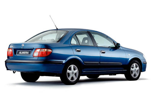 Nissan Almera Sedan 2000-2002