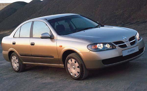 Nissan Almera Sedan 2003-2006