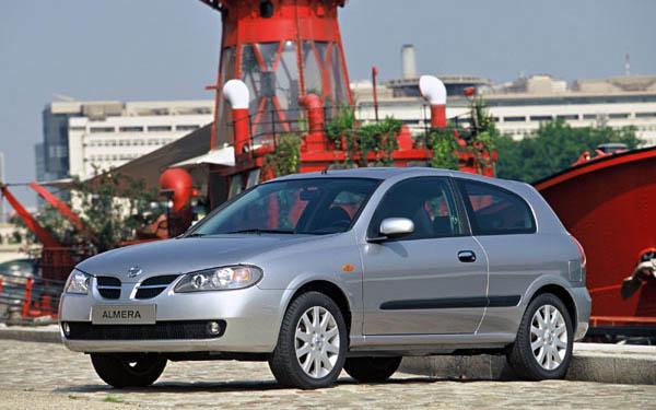 Nissan Almera 3-Door 2003-2006