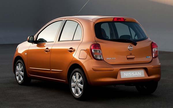 Nissan Micra 2010-2013