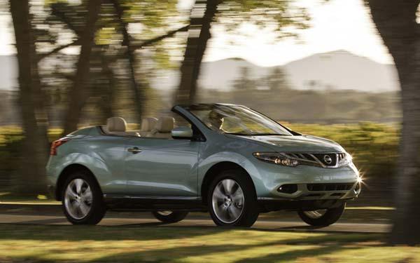 Nissan Murano CrossCabriolet 2011-2015
