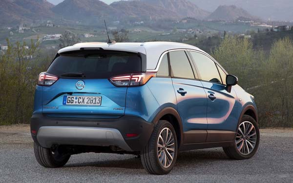 Opel Crossland X 2017-2020