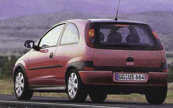 Opel Corsa 3-Door 2000-2003