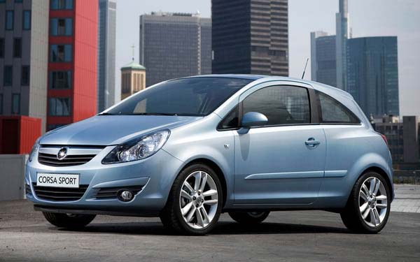 Opel Corsa 3-Door 2006-2010