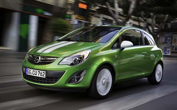 Opel Corsa 3-Door 2011-2014