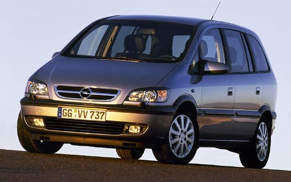 Opel Zafira 2003-2005