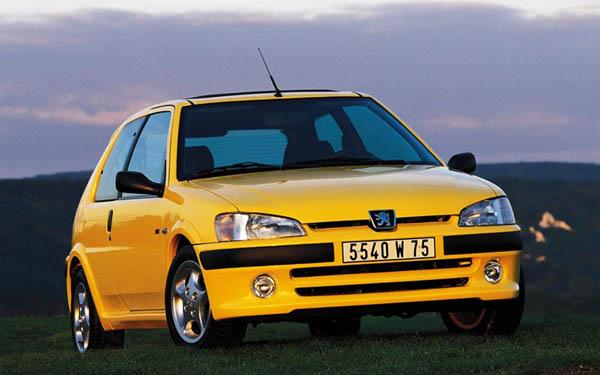Peugeot 106 S16 1997-2004