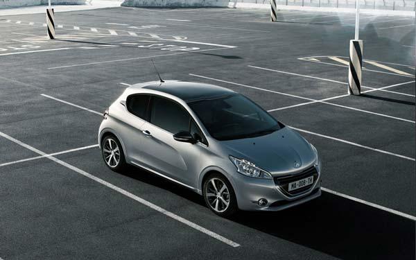 Peugeot 208 3-Door 2012-2014