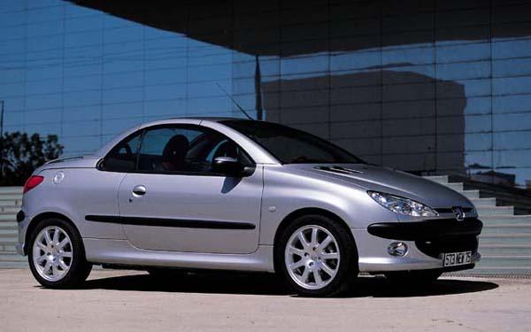 Peugeot 206 CC 2000-2006
