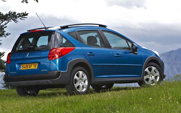 Peugeot 207 SW 2007-2009
